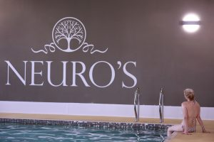 Neuro's swimming pool and spa